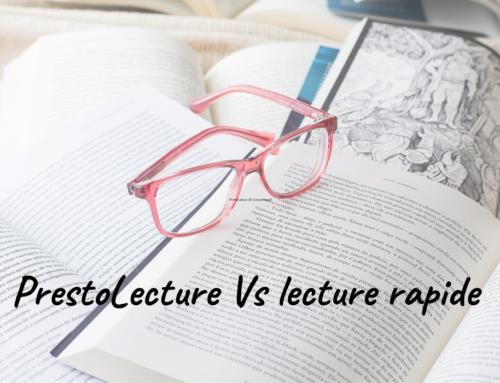 Les différences entre PrestoLecture et Lecture Rapide
